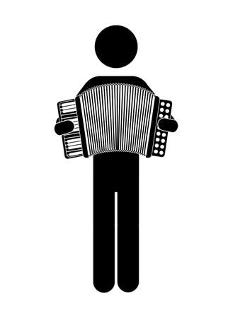 anonymus: Artist design over white  background, vector illustration