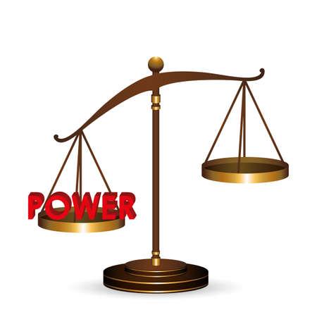 tribunal: Law design over white background,vector illustration