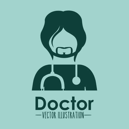 anonymus: Occupations design over blue background, vector illustration
