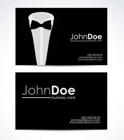 Clothes card design, vector illustration