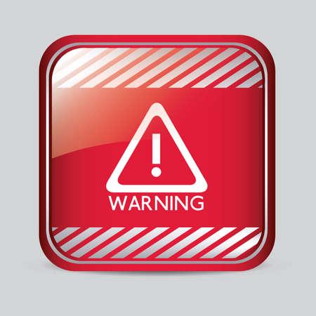 Danger design over gray background, vector illustration Stock Vector - 29423881