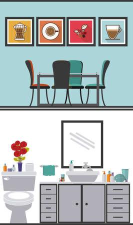 Diseño de la casa sobre el fondo blanco, ilustración vectorial Ilustración de vector