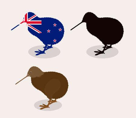 bandera de nueva zelanda: Dise�o Nueva Zelanda sobre el fondo blanco, ilustraci�n vectorial Vectores