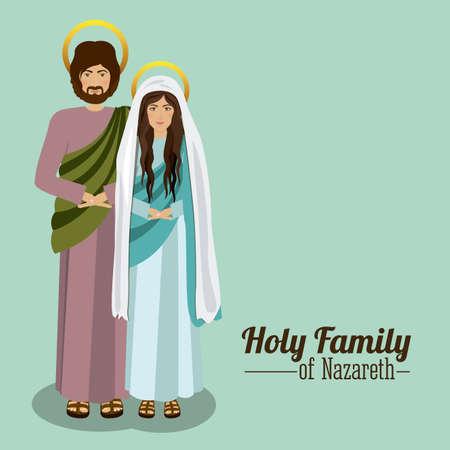 christianity: Christianity design over white background, vector illustration