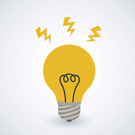 energetics: Energy design over white background, vector illustration Illustration