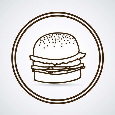 ailment: Dise�o de Alimentos sobre fondo blanco, ilustraci�n vectorial Vectores