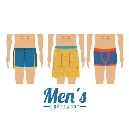 pant: Underwear design over white background,vector illustration