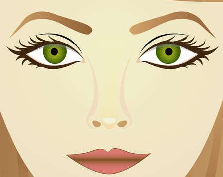 People design over beige background, vector illustration Vector