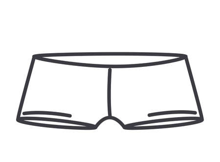 ollection: Underwear design over white background, vector illustration Illustration