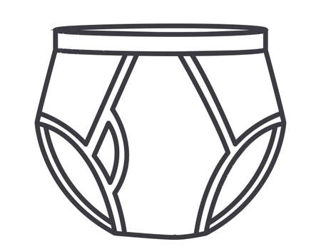 ollection: Underwear design over white background, vector illustration Illustration