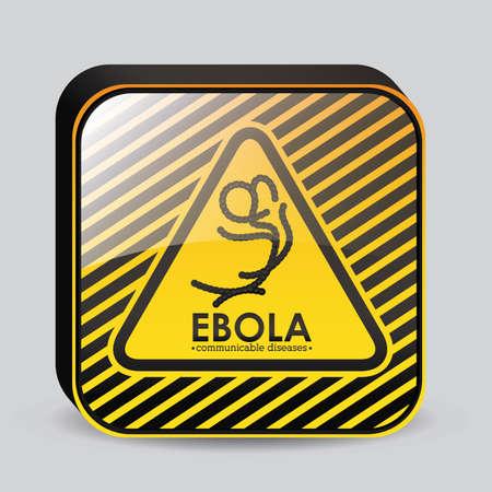 bacillus: Medical design over white background, vector illustration Illustration