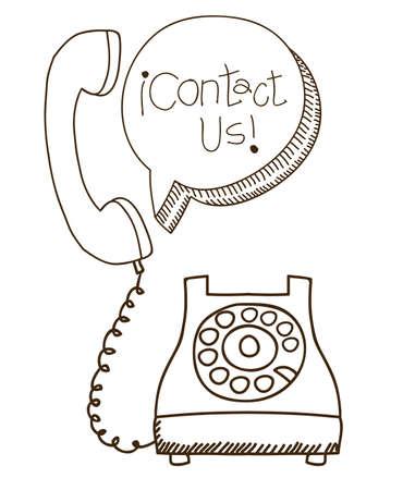 Call center design over white background,vector illustration Illustration