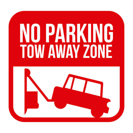 parking is prohibited: Parking design over white background, vector illustration.