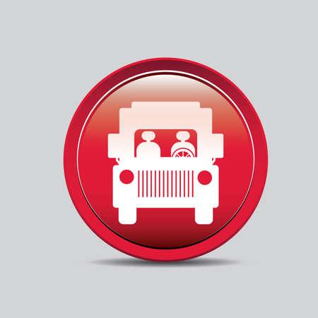 shipload: Parking design over gray background, vector illustration.