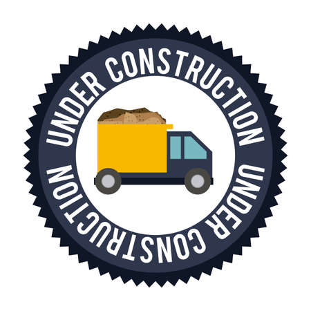 recondition: Construction design over white background,vector illustration. Illustration