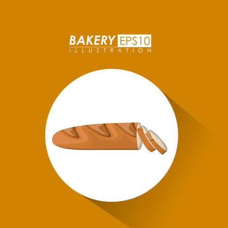 Bakery design, vector illustration. Vector