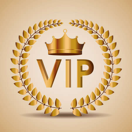 VIP design, vector illustration. Vector