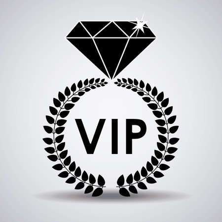 vip design: VIP design, vector illustration.