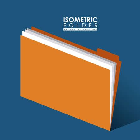 folder design: Folder design, illustration.