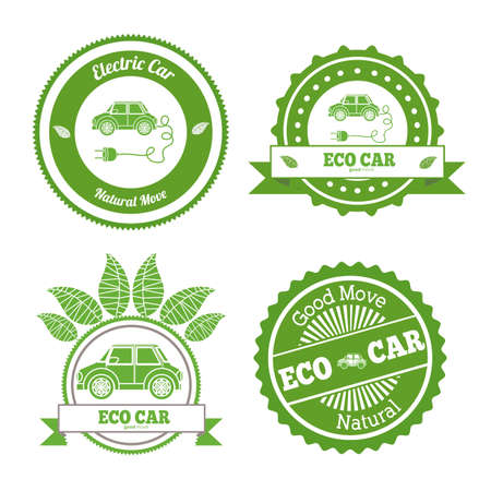 eco,ecology, desing over white background, vector illustration.