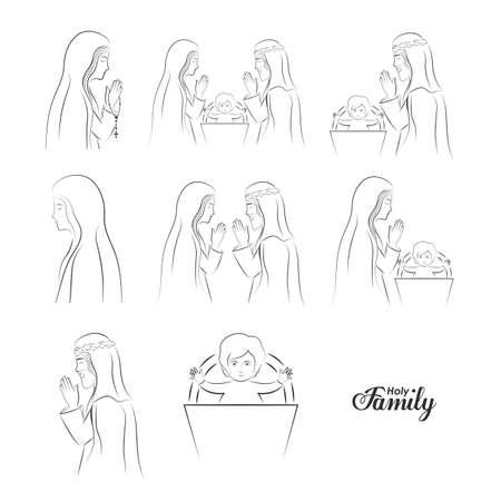 cristianismo: dise�o cristianismo, ilustraci�n vectorial.