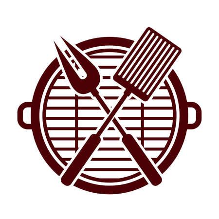 quincho: dise�o barbacoa, ilustraci�n vectorial Vectores