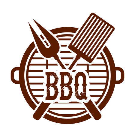 bbq background: barbecue design, vector illustration