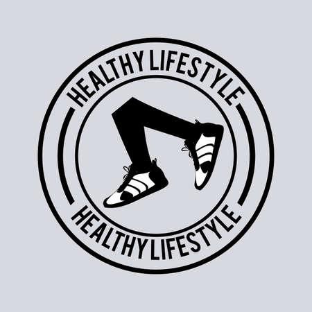 reducing: Healthy lifestyle, vector illustration Illustration