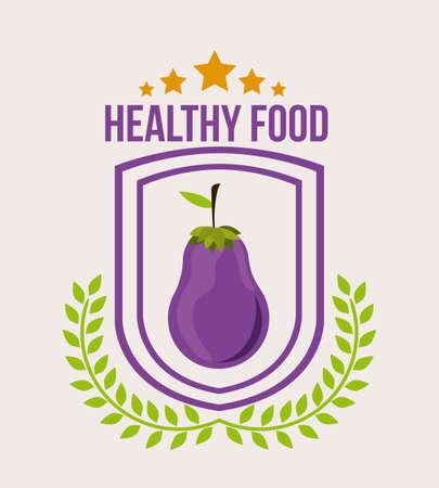 nourishing: Healthy lifestyle, vector illustration Illustration