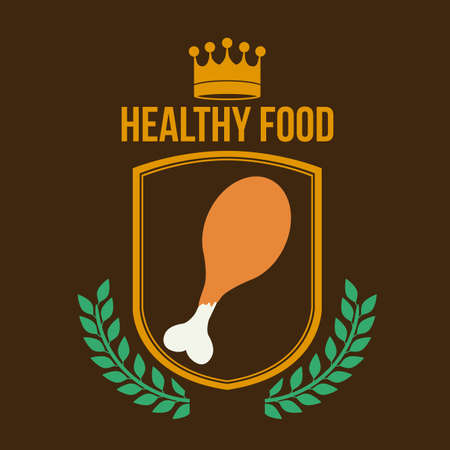 lifestyle dining: Healthy lifestyle, vector illustration Illustration