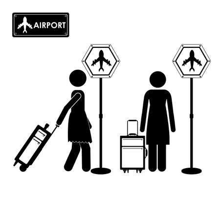 Travel icon design, vector illustration over white background Vector