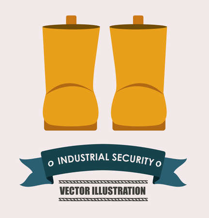 watter: industrial security, desing over white background vector illustration.