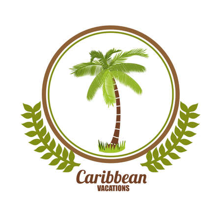 lllustration: Caribbean  Design, vector lllustration