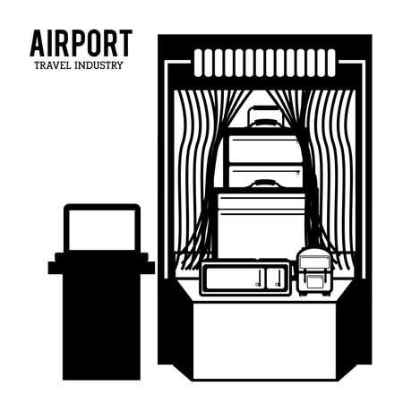 Travel icon design, vector illustration over white background Illustration