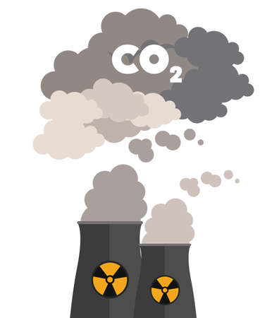 Toxic and Pollution design, vector illustration Illusztráció