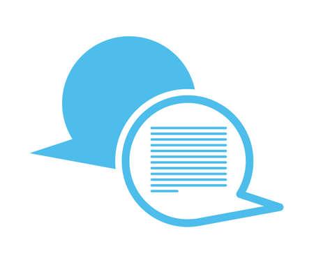 multilingual: Live Chat design, vector illustration