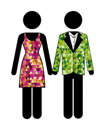 Clothing design, vector illustration
