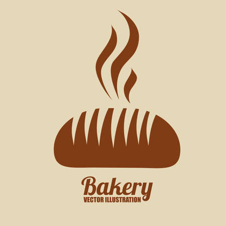 Bakery design, vector illustration Illustration