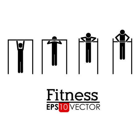 elite sport: Fitness and Workout design, vector illustration