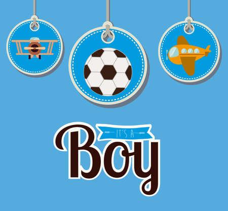 Toys design, vector illustration