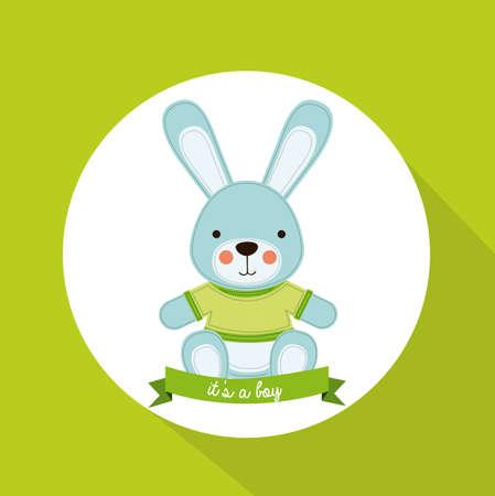 tuinontwerp: Tuinontwerp over groene achtergrond, vector illustratie