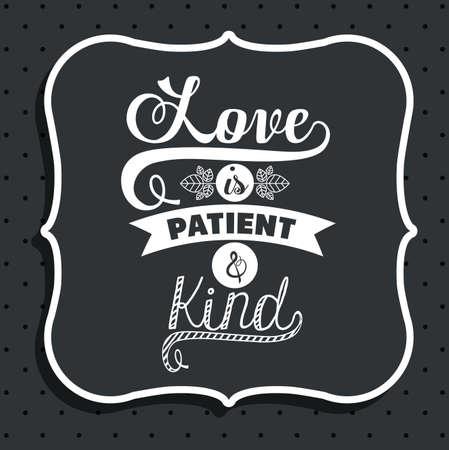 Attitude phrase design over black background, vector illustration
