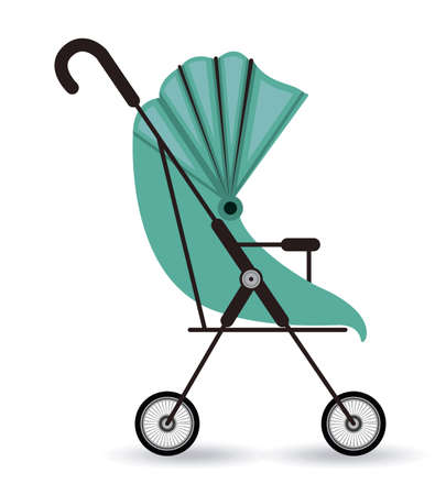 baby shower background: Baby shower design over white background, vector illustration