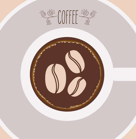 coffee crop: Cook icon design over white background, vector illustration
