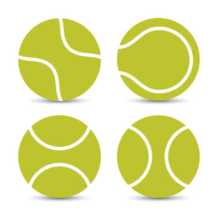 to play ball: Tennis design over white background, vector illustration