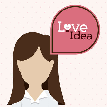 big idea: Big idea design over white background, vector illustration