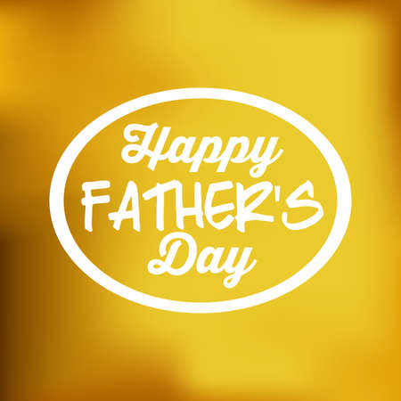 happy fathers day: Fathers day design over colored backgrund, vector illustration