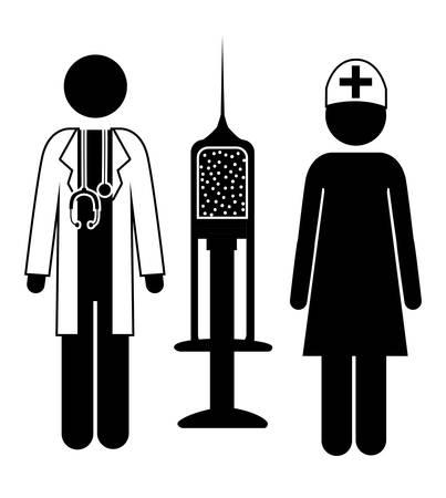 blood tests: Donate Blood design over white background, vector illustration