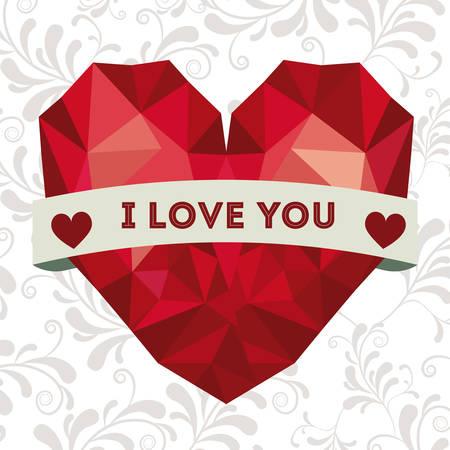 happy birthday heart shapes: Happy Birthday design over white background, vector illustration