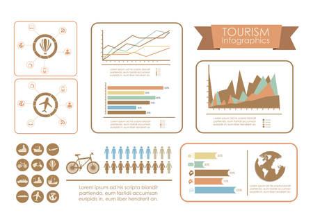 infomation: Infographic design over white background, vector illustration Illustration